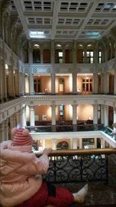 Interior view of the Landmark Center--a fairyland castle