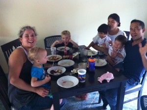 Sharing a Meal in Nicaragua