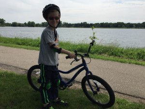 Biking Around Lake Phalen